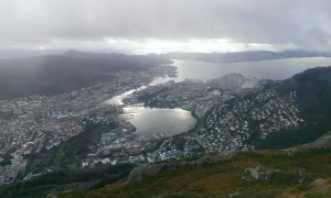 View from Ulriken, Bergen