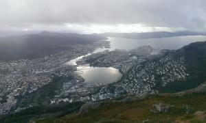 View from Ulriken, Bergen