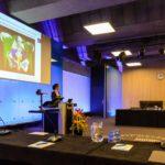 "During the ""Lekenpraatje"" an informal presentation for friends and family."