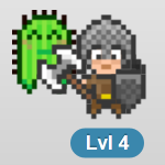habitRPG review: That's me in HabitRPG. Pretty cute huh? Check out my Cactus pet and snazzy outfit!